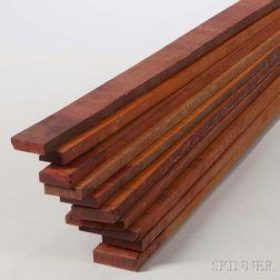 Ten Pernambuco Boards