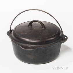 """Griswold Cast Iron Number 8 """"Tite-top Dutch Oven,"""""""