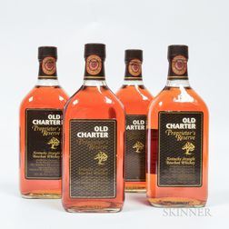 Old Charter Proprietors Reserve 13 Years Old, 4 750ml bottles Spirits cannot be shipped. Please see http://bit.ly/sk-spirits for mo...
