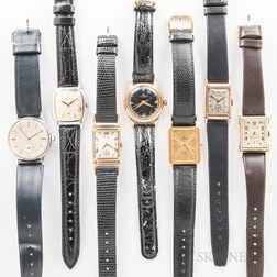 Seven Men's Wristwatches