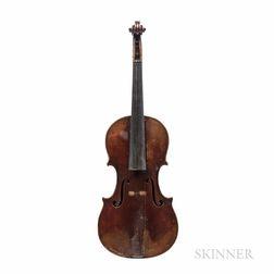 American Violin, Attributed to David M. & Lyman Dearborn