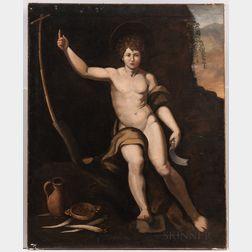 After Raphael (Italian, 1483-1520)      St John the Baptist as a Boy
