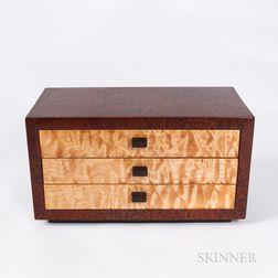 Artist-designed Wood Jewelry Box