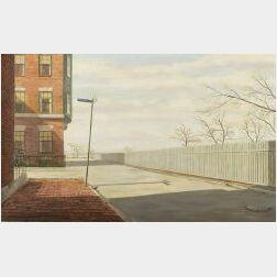 Robert Bliss (American, 1925-1981)  Brimmer Street