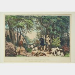 Nathaniel Currier, publisher (American, 1813-1888)    Partridge Shooting.