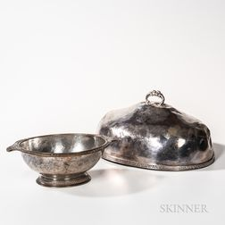 Two Serving Pieces from the Hotel Commodore, New York