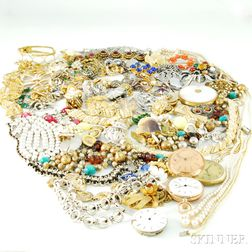 Group of Jewelry and Related Items