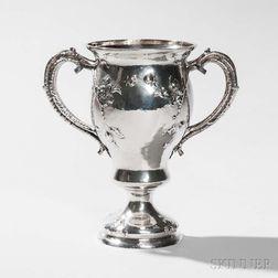 Gorham Sterling Silver Two-handled Vase