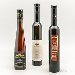 Canadian Trio, 3 demi bottles
