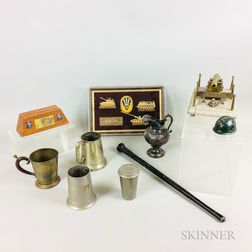 Group of Military Presentation Items