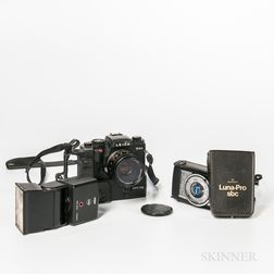 Leica R4s Camera with Motor Drive