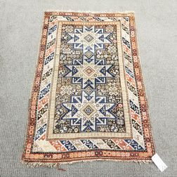 Shirvan Rug with Lesghi Star Design