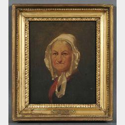 Possibly John Wesley Jarvis (New York, 1780-1840)      Portrait of Mrs. Alexander Hamilton.
