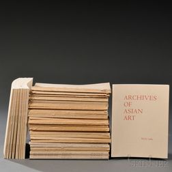 Chinese Art Society, Archives of the Chinese Art Society