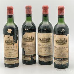 Chateau Ausone 1964, 4 bottles