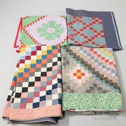 Four Mennonite Quilts