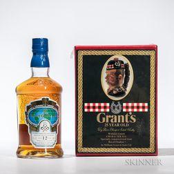 Mixed Grants, 1 750ml bottle (pc) 1 70cl bottle