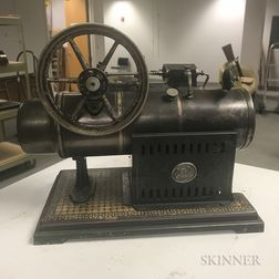 "Miniature German ""Union"" Steam Engine"