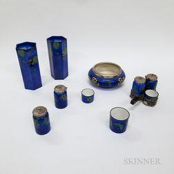 Eleven Royal Doulton Porcelain Items