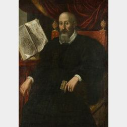 Manner of Francesco Giambattista da Ponte Bassano (Italian, c. 1549-1592)  Portrait of a Nobleman