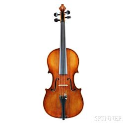 German Violin, Markneukirchen, 1920