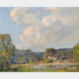 William Jurian Kaula (American, 1871-1953)      Summer Clouds