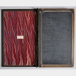 Book Slate, Codex-format, American, Late 19th Century.