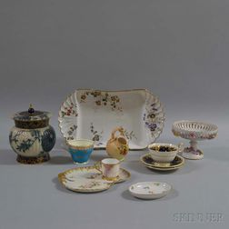 Eleven Assorted Ceramic Tableware Items.     Estimate $20-200