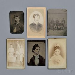 Photograph Album, 1870s: Soldiers and Civilians, with a Texas Connection.