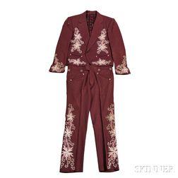 Little Jimmy Dickens     Maroon Suit
