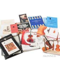 Collection of Lutherie-related Publications and Catalogs