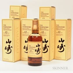 Yamazaki 12 Years Old, 6 750ml bottles (oc)