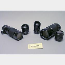 Fifteen Pentax-Fit SLR Lenses