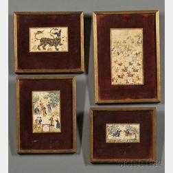 Four Persian Miniatures