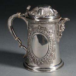 Victorian Silver Tankard