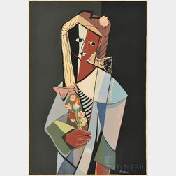 Philip Burnham Hicken (American, 1910-1985)      Serena