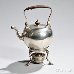 Edward VII Sterling Silver Kettle-on-Stand