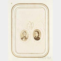 Photograph Album, 1860s: Tintypes; Carte-de-Visites; Abraham Lincoln.