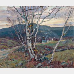 Emile Albert Gruppé (American, 1896-1978)      Blue Hills
