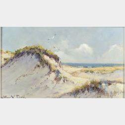 Arthur Vidal Diehl (American, 1870-1929)  Coastal Dunes