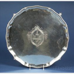 Large George III Silver Salver
