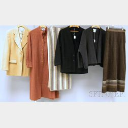 Ten Pieces of Women's Fall/Winter Vintage and Designer Clothing