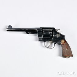 Smith & Wesson MKII Second Model Hand Ejector Revolver