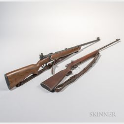 J. Stevens Arms Co. Model 416 Bolt-action Rifle and a Winchester Model 68 Bolt-action Rifle