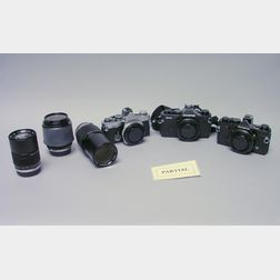 Olympus OM Series Camera Outfit