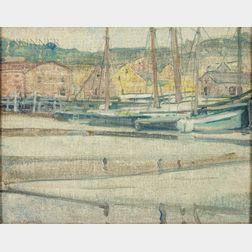 Jane Peterson (American, 1876-1965)      Low Tide