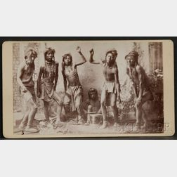 Photograph of Shoshone Dancers