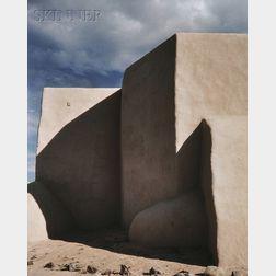 Rodger Paul Kingston (American, b. 1941)      Ranchos de Taos