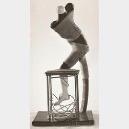 Dora Maar (French, 1907-1997)      Untitled (Oscar Dominguez Sculpture)