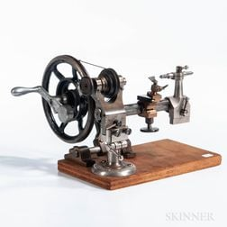 Unmarked Watchmaker's Lathe